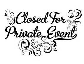 closed for a private event 5 1 880 bistro