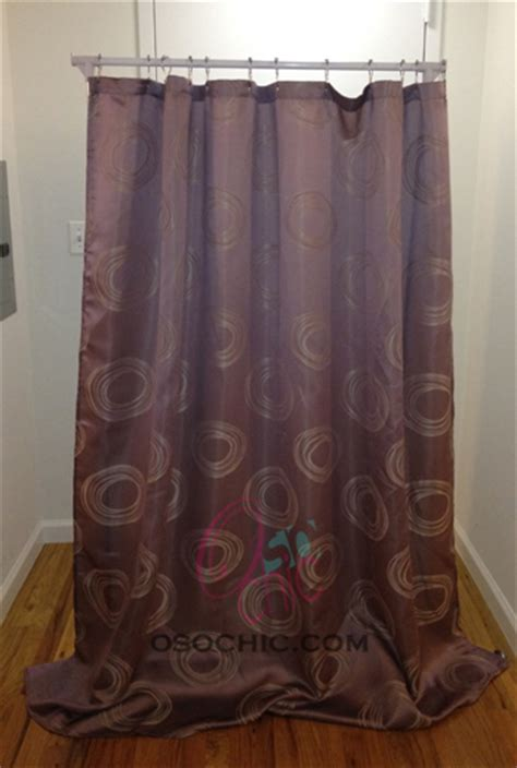 diy curtain room divider diy room divider o so chic