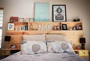 Headboard With Shelves Pallet Bed Headboard With Shelves Pallet Ideas Recycled Upcycled Pallets Furniture Projects