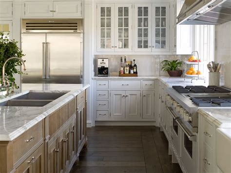 white l shaped kitchen with island east hton dream kitchen by phoebe howard simplified bee