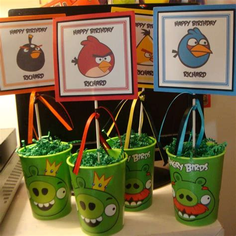 Angry Birds Decoration Ideas Angry Birds Birthday Ideas Photo 6 Of 20 Catch