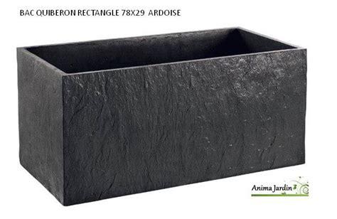 bac jardini 232 re en b 233 ton cir 233 78cm quiberon couleur ardoise achat