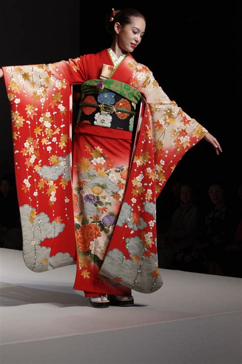 Traditional Kimono Dress yukiko hanai summer collection 2012 part 1 the