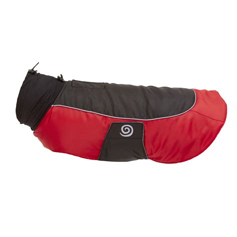 comfort jackets for dogs ultra paws comfort dog coat red baxterboo
