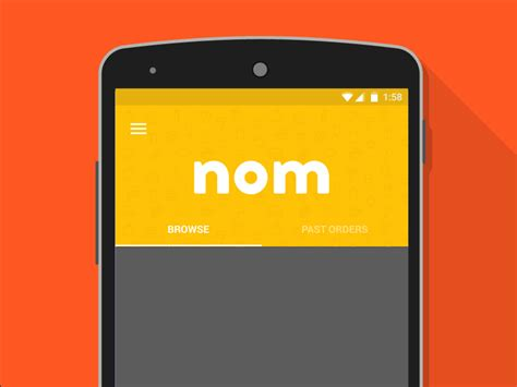 material design app mockup android material design uplabs