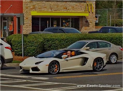Lamborghini Nc Lamborghini Aventador Spotted In Carolina