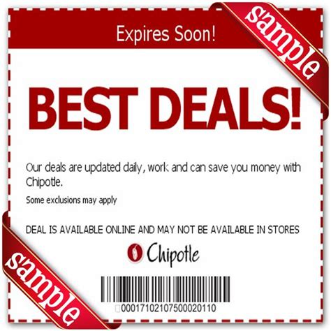 local grocery coupons printable chipotle mexican grill printable coupon december 2016