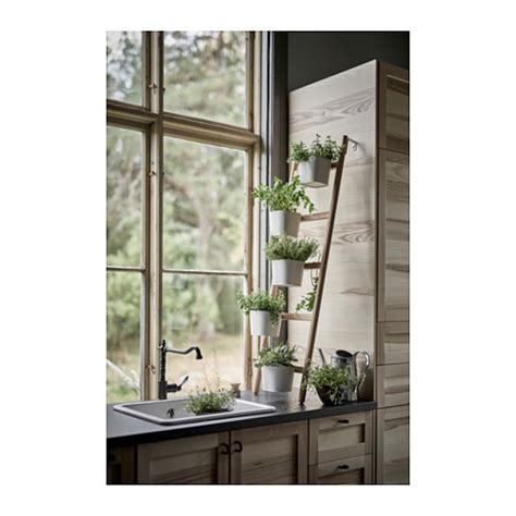 living room plants ikea satsumas plant stand with 5 plant pots bamboo white 125 cm ikea