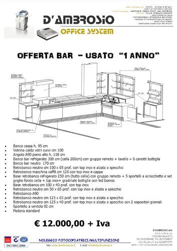 Banco Bar Usato by Bancone Bar Www Dambrosiosrls It