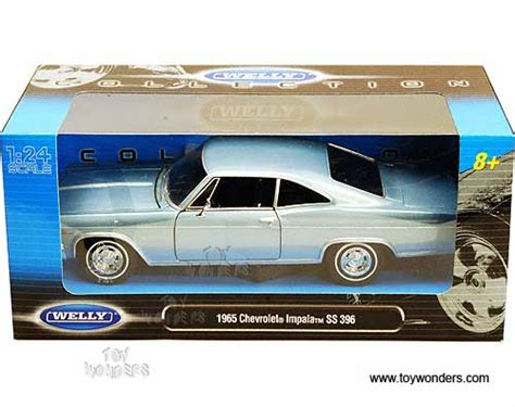 Welly Chevrolet Custom Decal 1965 chevrolet impala ss 396 top by welly 1 24 scale
