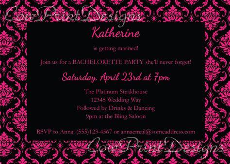 100 free printable bachelorette invitations free 15