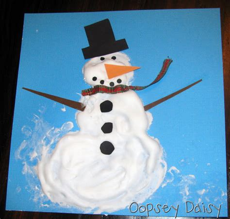 35 creative and fun snowman art craft food ideas artsy