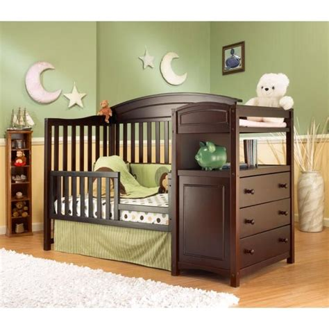 baby bed with changing table like it convertible crib with changing table pinterest