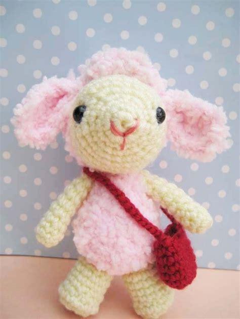 amigurumi lamb pattern free pdf pinky lamb amigurumi crochet pattern luulla on luulla