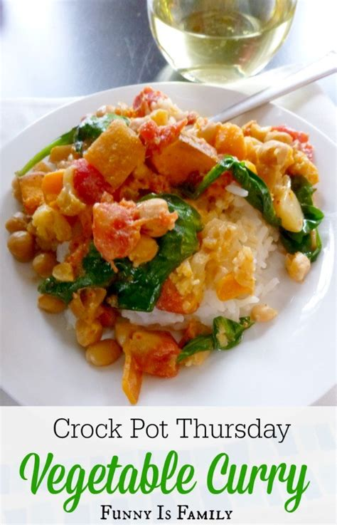 vegetables in crock pot crock pot vegetable curry