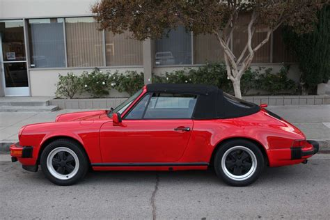 porsche 911 convertible 1983 porsche 911sc cabriolet outstanding first year
