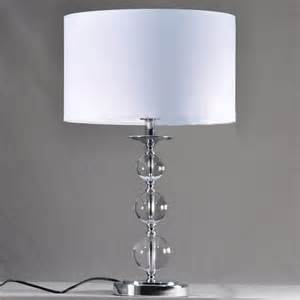 Modern Table Lamps by White Cloth Art Chrome Plated Modern Table Lamps For Sale