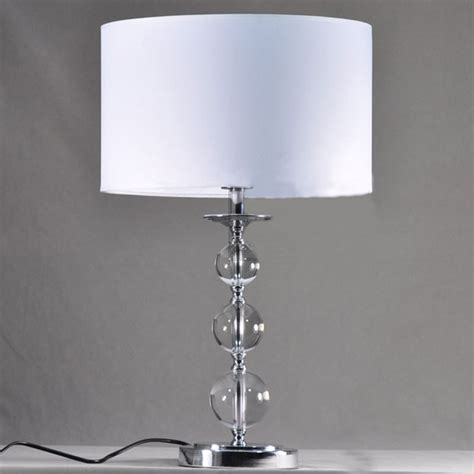 table lighting wholesale white pvc affixed cloth table l with k9