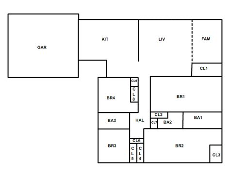 Draw Simple Floor Plans by Draw Simple Floor Plans Free Alluring Concept Bedroom Or