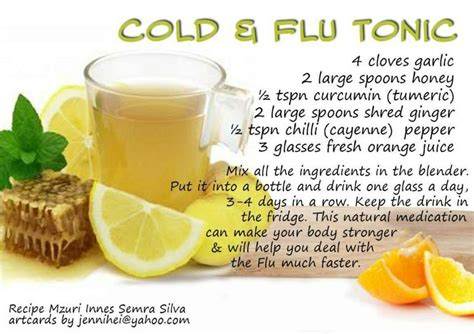 cold flu remedy wellness