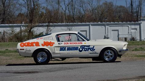 68 ford mustang cobra jet 1968 ford mustang cobra jet s119 indy 2017