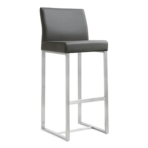 modern counter height chairs modern stools danube gray counter stool eurway