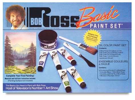 bob ross painting set bob ross basic paint set blick materials