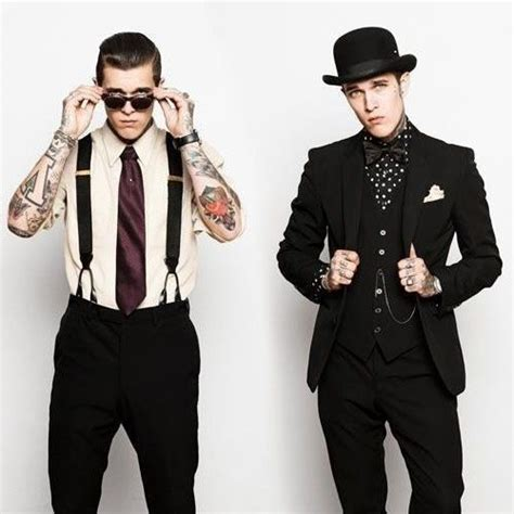 suits and tattoos rock n roll style for