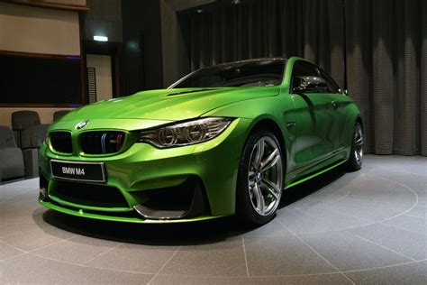 light green bmw 540hp java green bmw m4 individual drops by abu dhabi