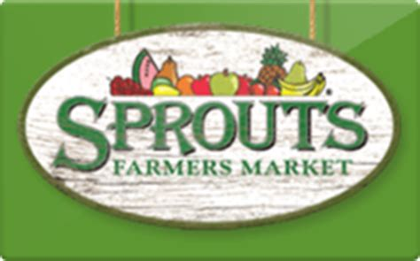Sprouts Gift Card Sale - sell sprouts farmers market gift cards raise