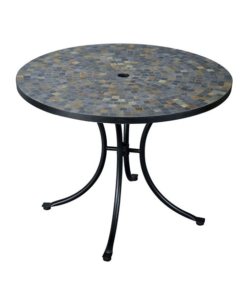 Slate Dining Table Home Styles Harbor 51 Inch Dining Table Slate Black 5601 36 Homelement