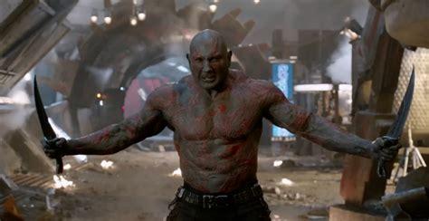 Batista Bench Press Dave Bautista Talks Drax S Humor In Guardians Of The
