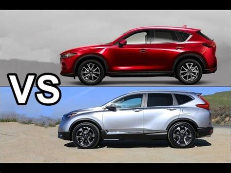 2017 mazda cx 5 vs 2017 honda cr v interior drive