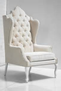Contemporary Wingback Chair Design Ideas Www Roomservicestore Casablanca Wing Chair In White Velvet