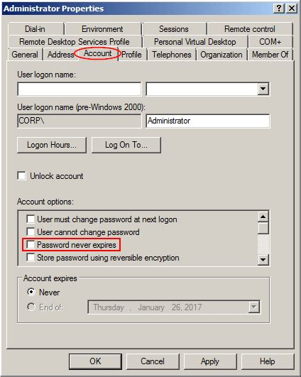 windows 7 reset password greyed out active directory password password recovery