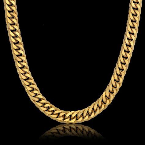 cadenas de oro gruesas para hombre gruesas cadenas de oro para los hombres compra lotes