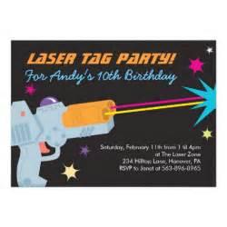 laser tag birthday invitations 5 quot x 7 quot invitation card zazzle
