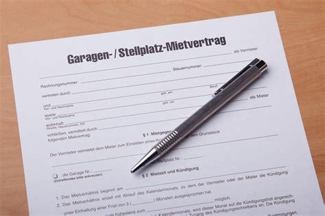 Kündigung Garagenmietvertrag by Garagenmietvertrag Garage Mietvertrag Muster Formular