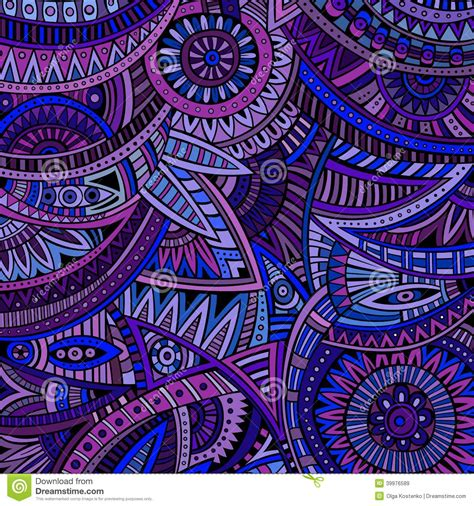 hippie tribal pattern abstract vector tribal ethnic background pattern stock