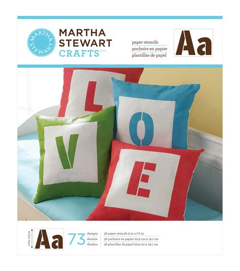 Martha Stewart Paper Craft - martha stewart large paper stencil 9 quot x7 1 2 quot 36 sheets pkg