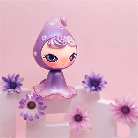 doll sts teary violet blossom sts limited edition by dressy doll x