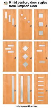 Mid Century Modern Front Doors 9 Mid Century Modern Exterior Door Styles From Doors Retro Renovation