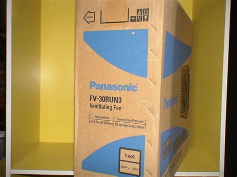Kipas Angin Ventilasi jual kipas ventilasi panasonic fv 30run3 baru kipas