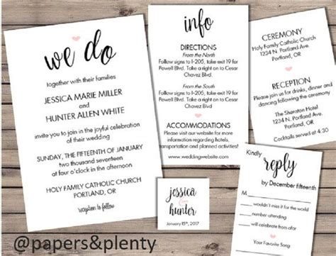 Wedding Invite Insert Templates by Wedding Inserts Template Gallery Resume Ideas Www