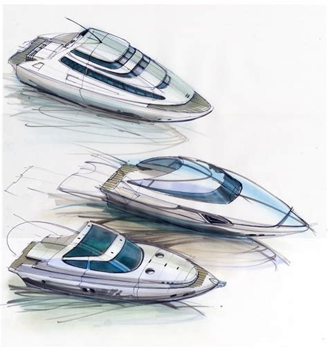 design concept boats 74 best images about yatch sketch on pinterest boats