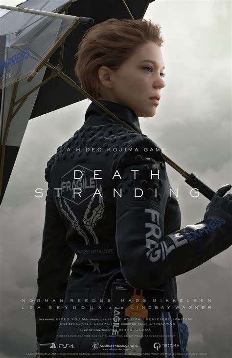 lea seydoux death death stranding e3 2018 trailer debuts gameplay new