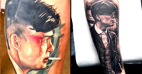 thomas shelby peaky blinders tattoo 10 gripping peaky blinders tattoos tattoodo