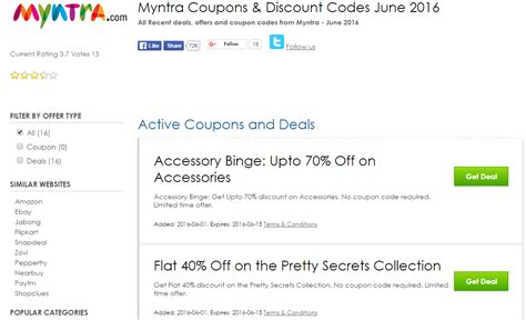 discount vouchers jabong save big with online deals on jabong myntra shopping