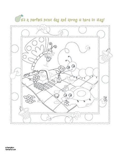 coloring pages for child abuse prevention picnic printable coloring page child abuse prevention