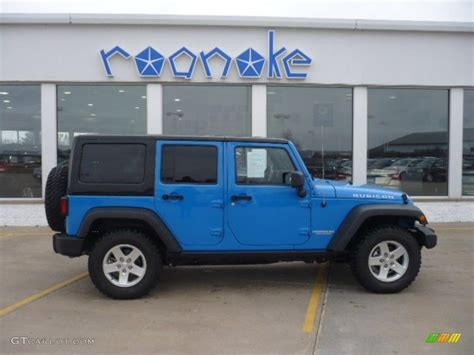 jeep rubicon blue 2011 cosmos blue jeep wrangler unlimited rubicon 4x4